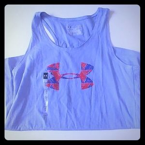 Under Armour youth large tank top loose heat gear